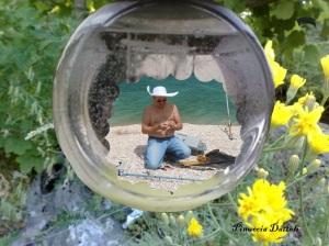 Pescatore in damigiana