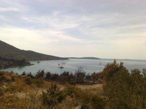 Paesaggio costa Croata