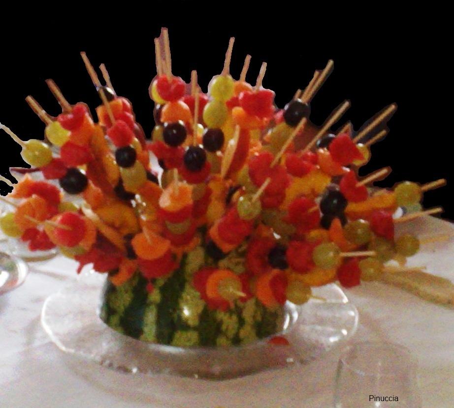 Centro tavola pinuccia - Centro tavola con frutta ...