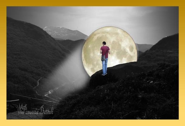 Francesco al chiaro di luna