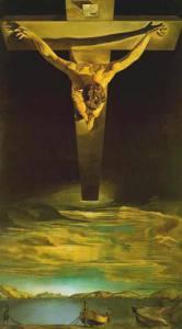 Il Cristo di San Juan de la Cruz, Salvador Dalí (1951).